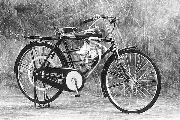 تاریخچه هوندا ؛ افسانه آهنگر ژاپنی دوچرخه برقی هوندا قدیمی