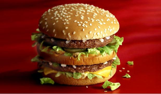 تجارت- فردا-  نشانگر بیگمک (ساندویچ بزرگ همبرگر مکدونالد)