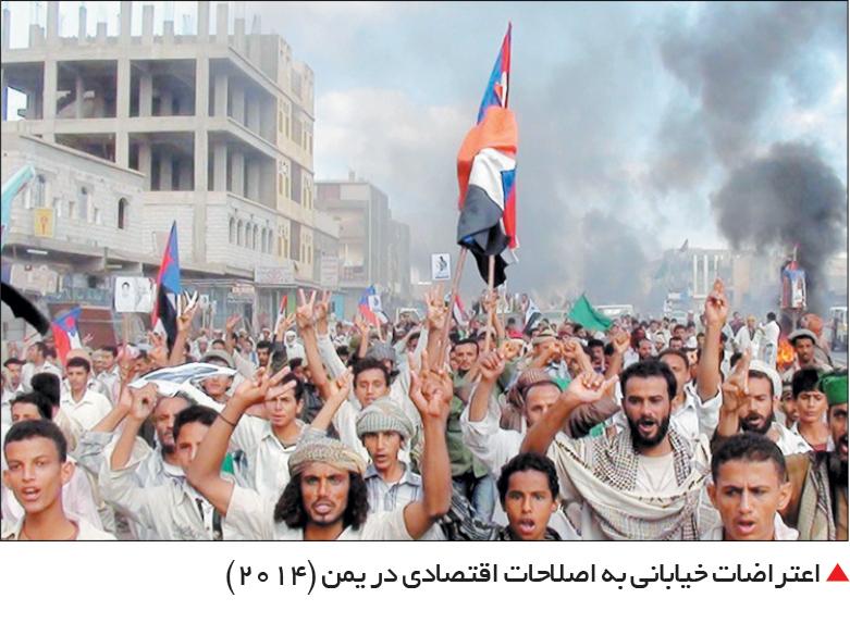 تجارت- فردا-  اعتراضات خیابانی به اصلاحات اقتصادی در یمن (2014)