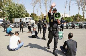 نمایش دستگیری اراذل و اوباش