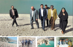 سرفههای خشک سدهای تهران