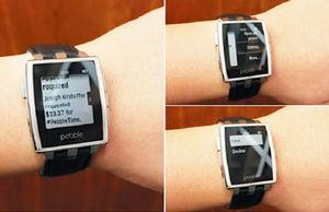 بهروزرسانی ساعتهای هوشمند پبل