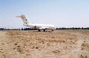 هواپیمای رهاشده در قم رستوران میشود