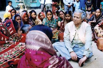 مردی که به دنیای بدون فقر میاندیشد