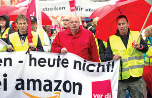اعتصاب آمازونیها