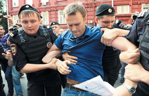 حبس مخالف پوتین